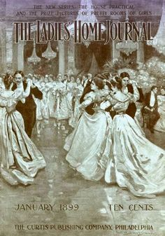 Ladies Home Journal c.1899. Gilded Age society and their Society Fancy Dress Balls.