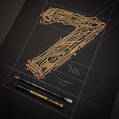 """Polubienia: 2, komentarze: 2 – Typography :) ☕️✏️ (@tomasz_biernat) na Instagramie: """"№ 7"""""""