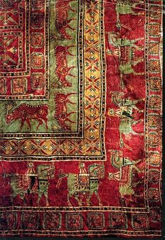 TEA AND CARPETS: The World's Oldest Carpet Story: The Pazyryk
