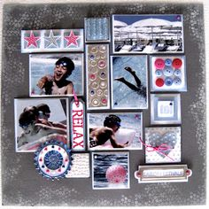 Great ideas for a summer scrapbook page here ... http://yayascrap.blogspot.com/search?updated-max=2011-06-15T15:27:00%2B02:00=7=109=false# yaya scrap & more
