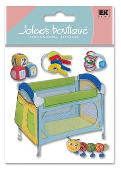 Search: 3d stickers > Baby > Play Pens & Toys 3D Stickers - Jolee's Boutique: Stickers Galore  $4.39