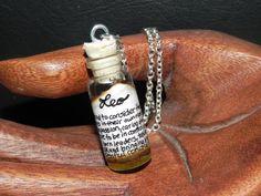 Leo Zodiac Horoscope in a Bottle for People by BottledUpCreations