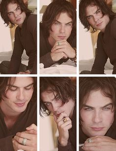 Ian Somerhalder  - Ragazza Magazine [2006] always wondered what he wold look like with long hair. still hot.