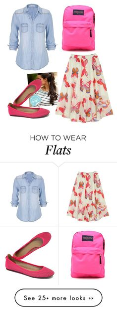 """""""First Day of School Outfit for Contest"""" by gmazhandu on Polyvore"""