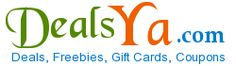 Get Daily Deals, Freebies, Gift Cards, Coupons & Vouchers at http://www.dealsya.com