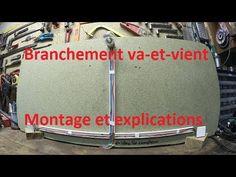 Branchement d'un va-et-vient : Montage et explications - YouTube