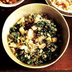 Green Kale Breadcrumbs Recipe
