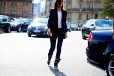 Paris Fashion Week SS17 FW16 September 28th Street Style