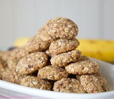 Gesunde Hafer-Kekse - ideal für Kinder (glutenfrei, & vegan & gesund) von www.lasharonesse.wordpress.com