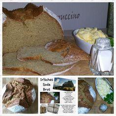 Irisches Sodabrot ♡ Anlässlich eines Irischen Abend den  unserer Kirchenjugend heute ausrichtet,  habe ich ein Irisches Soda Brot gebacken.   Es i...