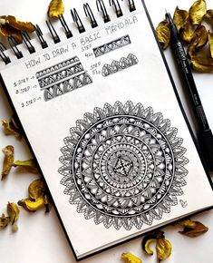 "Richa S on Instagram: ""MANDALA TUTORIAL —2 Hello everyone,, as promised today I am sharing a beginners friendly mandala tutorial, it's a pictorial step by step…"" Mandala Drawing, Mandala Tattoo, Mandala Art Therapy, How To Draw Steps, Zen Doodle, Hello Everyone, Zentangle, Doodles, Graphic Design"