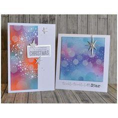 Snowy Stars 663117 Tim Holtz Set 6PK Sizzix Thinlits Die
