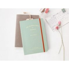 Iconic // Journal Note // Vintage Mint $19.95