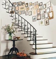 Entryway. Domino Mag. Amanda Peet's home. from simplyseleta.com by sheila.moose