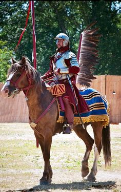 Historical reconstruction of a Winged Hussar century Elite Polish cavalry comprised of exiled Serbian Warriors. Hungary Travel, Canada, Medieval Times, Military History, Fiction, Wings, Culture, Blog, Austrian Food