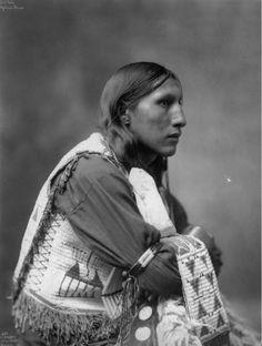Poor Elk, Native American Oglala, Teton Sioux man, (Lakota) - Heyn Photo - 1899