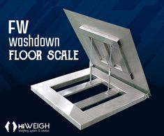 Avail stainless steel built FW #Washdown #FloorScale with a capacity of up to 2000kg from HiWEIGH with high-end features. For details,  click here www.hiweigh.com/product-details/fw-washdown-floor-scale