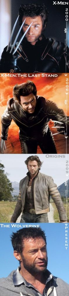 Evolution: Hugh Jackman's Wolverine Hair