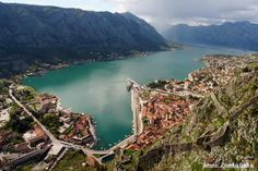 The Bay of Kotor in Montenegro.  Montenegro just sounds so... mysterious!
