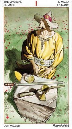 I. The Magician - Initiatory Tarot of the Golden Dawn by Giordano Berti, Patrizio Evangelisti