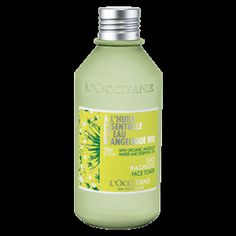 This alcohol-free Angelica Face Toner, enriched with angelica essential oil and water, moisturizes, refreshes and rids the skin of impurities. After
