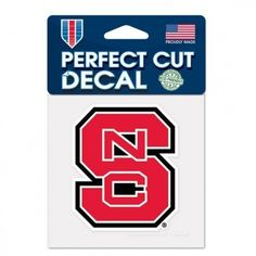 Perfect Cut Decal NC State – 460 Sports