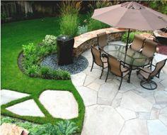 Modern-garden-fountain modern gardens, stone work, patio, backyard, garden fountains, stepping stones