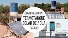 Cómo hacer un termotanque solar de agua. Calienta agua a una temperatura de 45°. Tiene un costo mucho menor y podemos construirlo nosotros mismos, con materiales y herramientas de uso corriente. Cómo hacer un termotanque solar de agua.