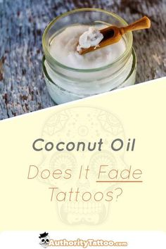 Coconut oil can be a great natural product to add to your tattoo aftercare routine, but many people are worried about the long term effects it may have on a tattoo's visual appearence. In this article, we discuss whether or not coconut oil can fade a tatt