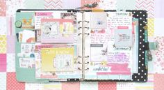 Hi everyone! Tiffany here with a spread in my 2017 memory planner. I'm using my Simple Stories Carpe Diem planner in Robin's Egg Blue as my memory planner for the new year. This is a ne…