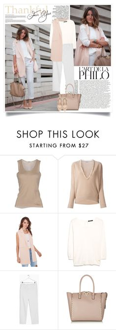 """""""Lovely Pepa: The Vest"""" by nora-nazeer ❤ liked on Polyvore featuring Gentryportofino, Brunello Cucinelli, MANGO, Valentino and Zara"""
