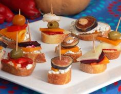 Multiple make ahead appetizer recipes.