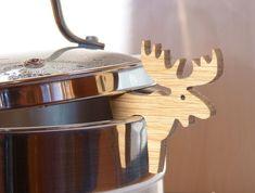 Wooden lid holder, Utensil holder, Lid prop, Pot guard, Kitchen holder, Table decorations, Kitchen organize, Christmas stocking stuffers