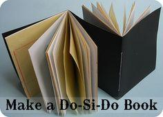 DIY: do-si-do book