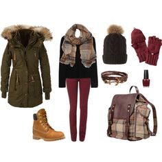"""""""Winter Outfit"""" by barbinspiration on Polyvore"""