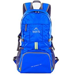 Venture Pal Lightweight Packable Durable Travel Backpack Daypack Lifetime Warranty * Quickly view this special product, click the image : Womens hiking backpack Best Ultralight Backpack, Best Travel Backpack, Tactical Backpack, Ultralight Backpacking, Rucksack Backpack, Hiking Bag, Camping And Hiking, Hiking Backpack, Hiking Outdoor