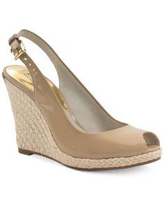0ac776b8fd9 MICHAEL Michael Kors Keegan Wedges Shoes - Sandals   Flip Flops - Macy s