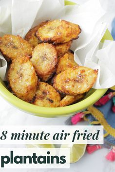 Plantain Chips Recipe, Fried Plantain Recipe, Plantain Recipes, Easy Healthy Recipes, Whole Food Recipes, Easy Meals, Side Dishes Easy, Side Dish Recipes, Oven Recipes