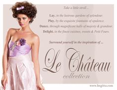 Pretty.Divine.Fun.Flirty.Le Chateau Collection