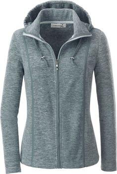 Collection L. Fleece-Jacke mit abnehmbarer Kapuze ab 34,99€. Sportive Fleece-Jacke mit Stehkragen, Polyester, Figurumschmeichelnde Form, Reißverschluss bei OTTO