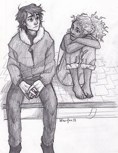 Nico di Angelo and Hazel Levesque