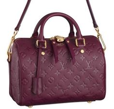 The Best Burgundy Bags for Fall; I usually don't like LV bag, but this one in Best Burgundy color