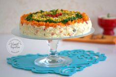 Yoğurtlu Patates Salatası Tarifi Turkish Breakfast, Iftar, Vanilla Cake, Food And Drink, Low Carb, Cooking Recipes, Desserts, 1, Foods