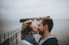 Nikoline & Tobias Photoshoot on an ordinary day . . #nosun #rain #preweddingsession #amagerstrandt #Kobenhavn