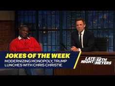 Seth's Favorite Jokes of the Week: Modernizing Monopoly, Trump Lunches with Chris Christie - YouTube