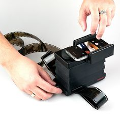 smartphon film, film scanner, films, exclus design, design lux