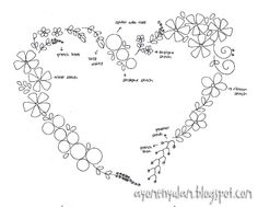 This Heart pattern tells you what stitches to use and is a fun way to start practicing. jwt
