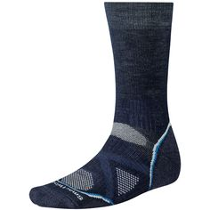 The Smartwool PhD is a high-performance, fitted merino-blend wool sock that earns a notable mention for comfort and versatility. It is best worn alone, a. Best Hiking Socks, Men Hiking, Smart Socks, Wool Socks, Trail Shoes, Camping Gear, Backpacking, Crew Socks, High Top Sneakers