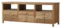 Reclaimed Pine Media Console from Zin Home