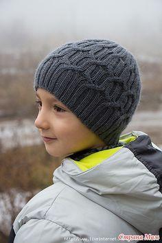 Шапка с аранами Gossamer Hat от Натальи Пелых.